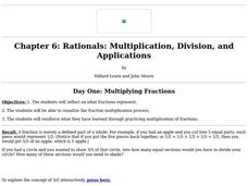 Multiplying Fractions Lesson Plan