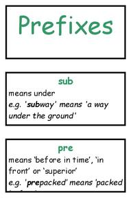 Prefix Trans Lesson Plans & Worksheets Reviewed by Teachers