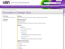 Principles of Design Lesson Plan