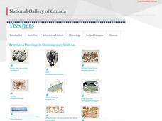 Prints and Drawings in Contemporary Inuit Art Lesson Plan