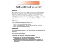 Probability and Geometry Lesson Plan