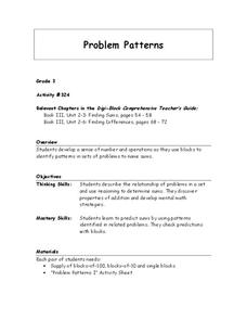 Problem Patterns Lesson Plan