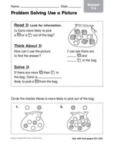 Problem Solving Use a Picture Worksheet