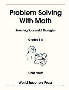 Problem Solving with Math Worksheet
