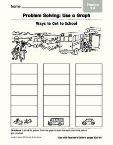 Problem Solving: Use a Graph Worksheet
