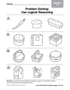 Problem Solving: Use Logical Reasoning Worksheet