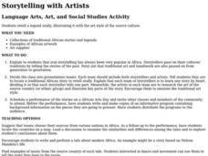 Storytelling With Artists Lesson Plan