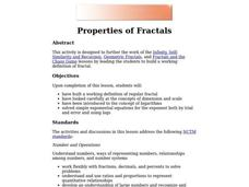 Properties of Fractals Lesson Plan