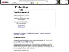 Protecting the Environment Lesson Plan