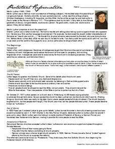 protestant reformation worksheet worksheets library  protestant reformation essay questions to print pdf