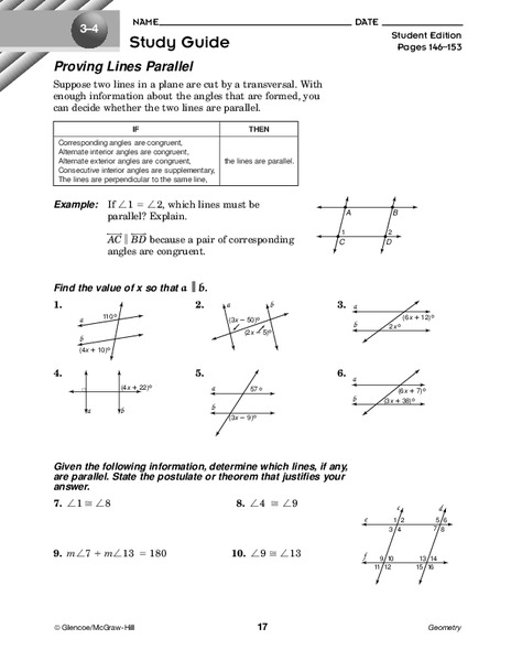 Proving Lines Parallel Worksheet Answers Parallel Lines Proof together with Angles formed by Parallel Lines and Transversals Worksheet Practice further 3 3 Proving Lines Parallel Worksheet Answers – Balancing Equations additionally Parallel Lines Cut by A Transversal Worksheet Answer Key in addition  likewise Parallel and Perpendicular Lines Worksheet Pdf Best Of 3 3 Proving likewise Unit 3 Parallel and Perpendicular Lines moreover 3 3 Proving Lines Parallel Worksheet Answers Best Of Valencia High moreover Proving Lines Parallel Worksheet Answers Elegant 3 3 Proving Lines also Proving Lines Parallel Worksheet for 10th Grade   Lesson Pla as well Proving Lines Parallel Worksheet – ishtarairlines also Unique Proving Lines Parallel Answers Proving Lines Parallel likewise  together with Worksheet  Proving Lines Parallel   Geometry Printable furthermore Parallel Lines And Transversals Worksheet Answer Key Math Trig 3 3 furthermore . on proving lines parallel worksheet answers
