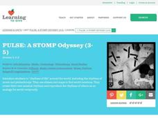 Pulse: A Stomp Odyssey Lesson Plan