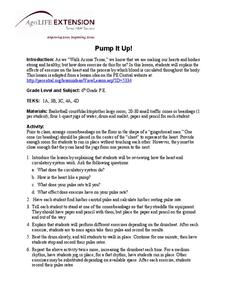 Pump It Up! Lesson Plan