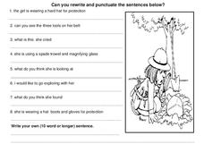 Punctuation Review Worksheet
