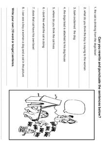 Punctuation Review 2 Worksheet