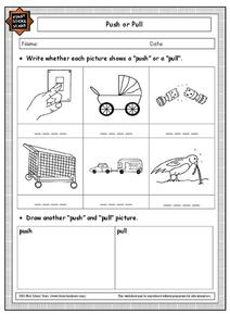 Push or Pull Worksheet
