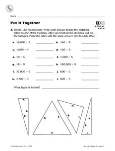 Put It Together Worksheet