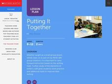 Putting It Together Lesson Plan