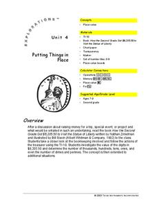 Putting Things in Place Lesson Plan