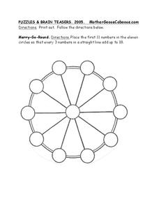 Puzzles and Brain Teasers Worksheet