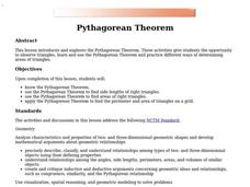 Pythagorean Theorem Lesson Plan