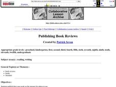 Publishing Book Reviews Lesson Plan