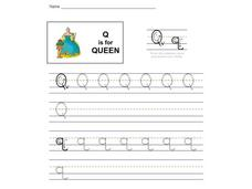 Q is for Queen: The Letter Q Interactive