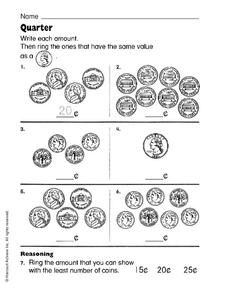 Quarter Worksheet