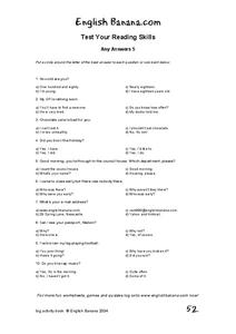 Questions And Statements Worksheet