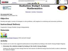 Radiation Budget Lesson Plan