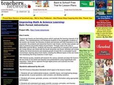 Rain Forest Adventures Lesson Plan