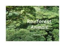 Rainforest Animals Printables & Template