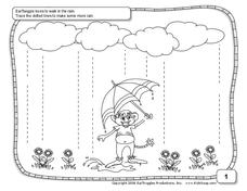 Rainy Weather Worksheet
