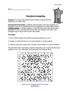 Random Sampling Lesson Plan