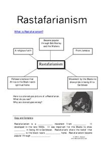 Rastafarianism Worksheet