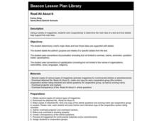 Read All About It Lesson Plan