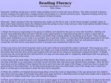 Reading Fluency Lesson Plan