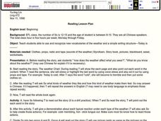 Reading Lesson Plan Lesson Plan
