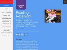 Reading Research! Lesson Plan