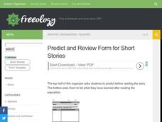 Reading Short Stories Worksheet