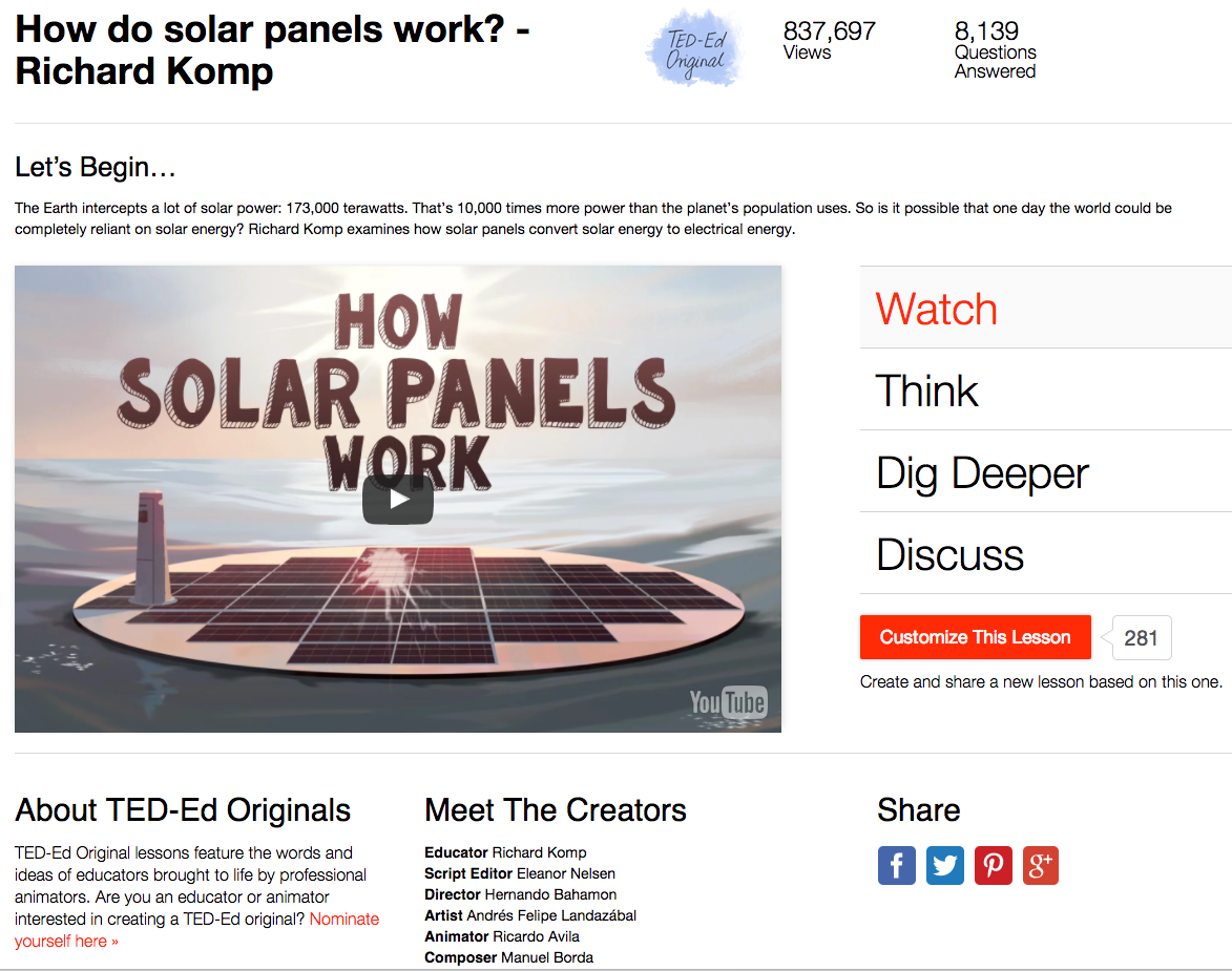 How Do Solar Panels Work? Video