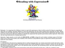 Reading with Expression Lesson Plan