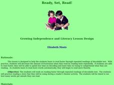 Ready, Set, Read! Lesson Plan