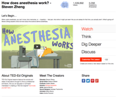 How does anesthesia work? Video
