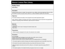 Reality Check Lesson Plan