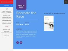 Recreate the Race Lesson Plan