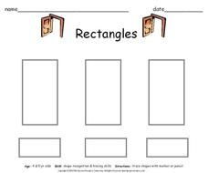 Rectangles Worksheet