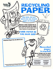 Recycling Paper Worksheet