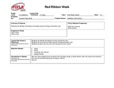 Red Ribbon Week: Peace Out to Drugs | Red ribbon, Red ribbon week ...