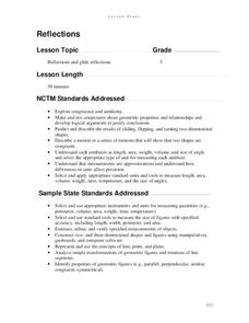 Reflections Lesson Plan